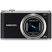 Samsung WB350F Smart Camera Black 16.3MP 21xZoom 3.0LCD FHD 23mm MicroSD WiFi