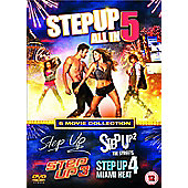 Step Up 1-5 Boxset (DVD)