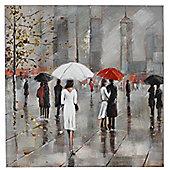 CIMC Home New York in the Rain Canvas Art