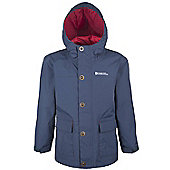 Lake Boys Waterproof Jacket - Blue