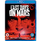 Last Days On Mars (Bd & Uv)