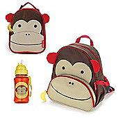Skip Hop Zoo Backpack & Lunch Bag & Drinks Bottle - Monkey