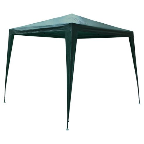 Tesco PE Gazebo 2.4mx2.4m Green