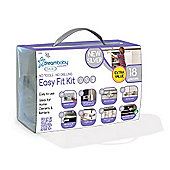 Dreambaby Easy Fit Kit Silver 18 Pieces UK