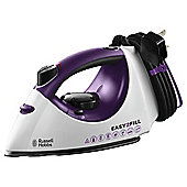 Russel Hobbs 19821 Ceramic Plate Steam Iron - Purple