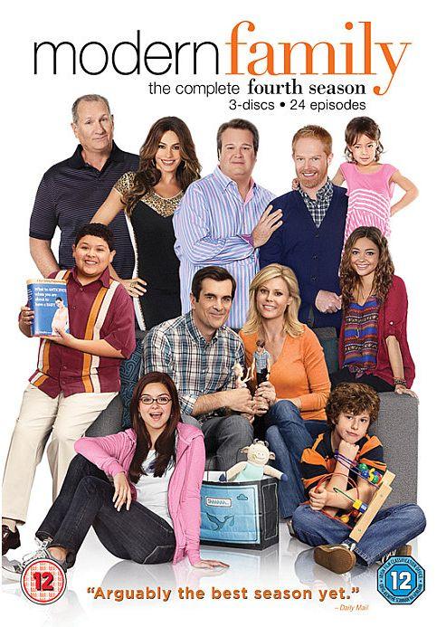 Modern Family - Season 4 (DVD Boxset)