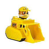 Paw Patrol Nickelodeon Paw Patrol Racers Rubble Small Vehicle