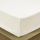 Julian Charles Mayfair Cream 300 Thread Count 100% Egyptian Cotton Fitted Sheet - Single