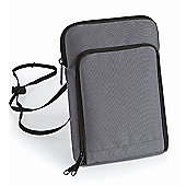 Travel wallet XL - grey