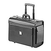 Falcon 16 inch Laptop Pilot Trolley Case. Excellent business wheeled case