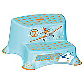 Disney Planes Toilet Training 21cm tall Double Step Stool - Blue