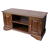 Lock stock and barrel Mahogany Widescreen TV Stand
