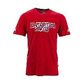 RWC England 2015 Kid's Script T-Shirt - Red - Red