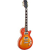 Rocket Standard L Zebra Electric Guitar - Honeyburst
