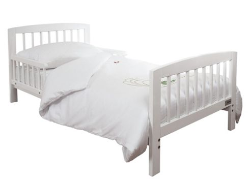 Tippitoes Junior Bed in White