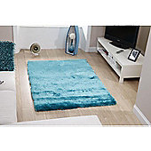 Oriental Carpets & Rugs Sable Teal Tufted Rug - 230cm L x 150cm W