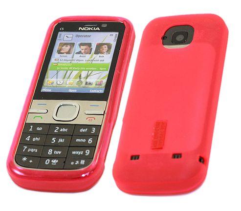 iTALKonline 11836 ProGel Skin Case Pink - For Nokia C5