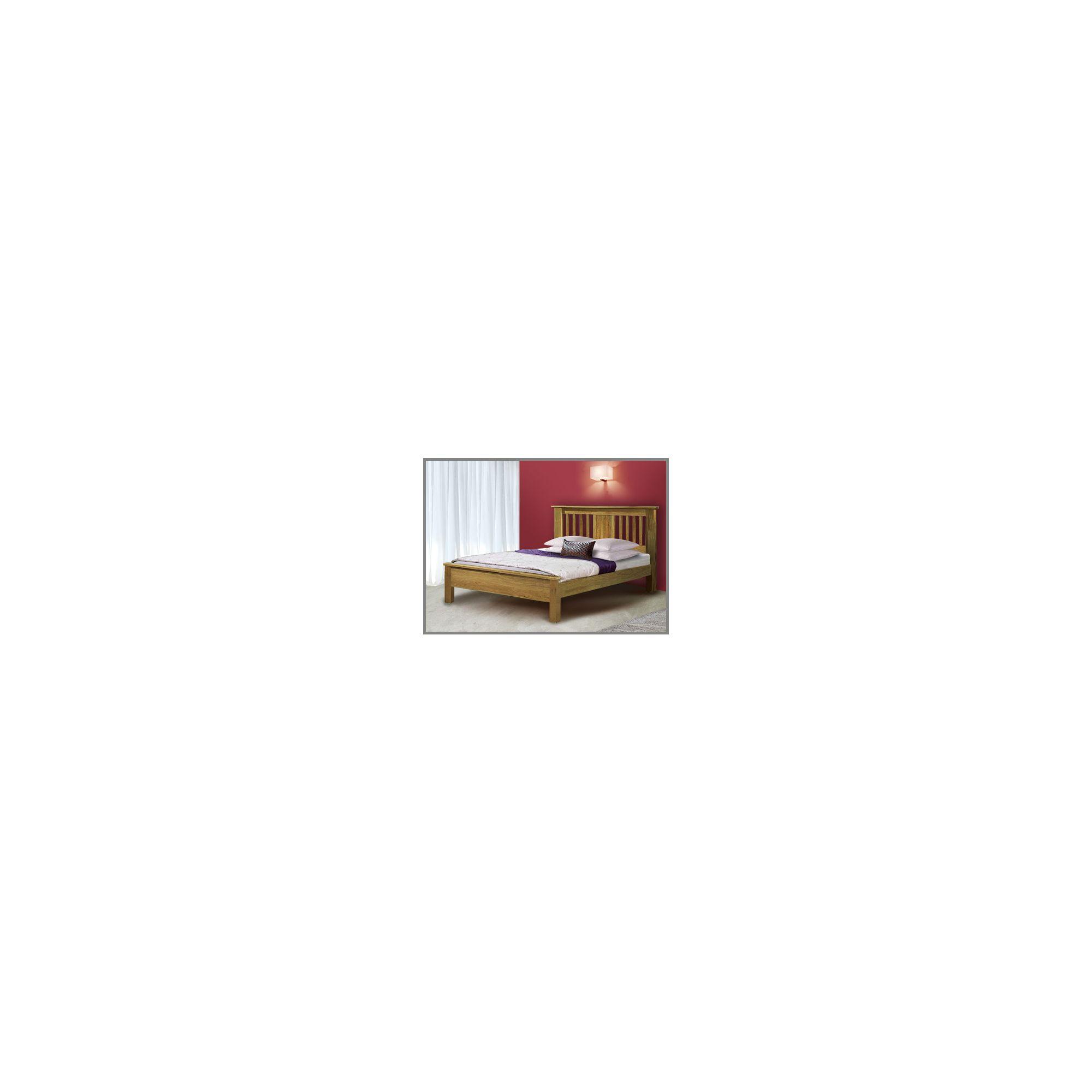 Flintshire Furniture Northop Bedstead in solid oak - Without Drawer - King at Tesco Direct