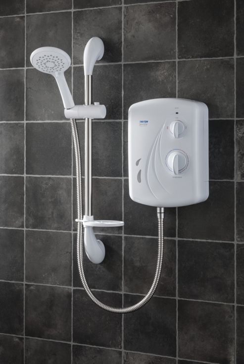 Triton Showers Seville 21 cm x 11 cm Electric Shower - 9.5 KW
