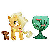 My Little Pony Applebucking Applejack Poseable Figure