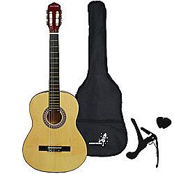 Rocket XF Series 4/4 Classical Spanish Guitar Pack