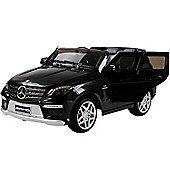 Licensed 12V Mercedes ML63 AMG Jeep Black