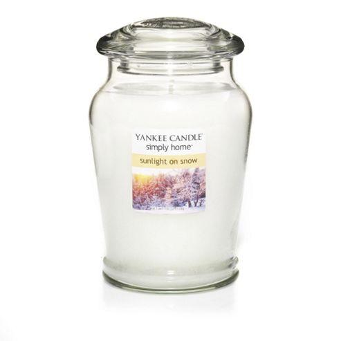 Yankee Candle Medium Jar Sunlight on Snow