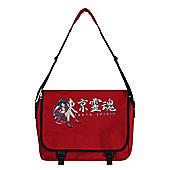 Tokyo Spirit Sakura Red Messenger Bag 38x33x11cm