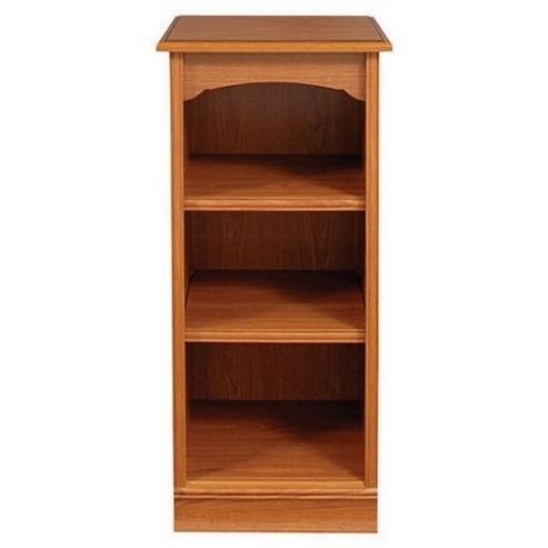 Caxton Lichfield Low Narrow Bookcase