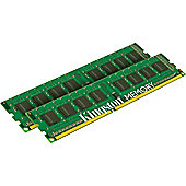 Kingston ValueRAM (16GB) (2x8GB) 1600MHz DDR3 Non-ECC 240-pin CL11 DIMM Memory Module