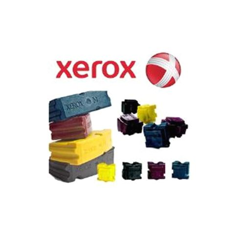 Xerox ColorStix Cyan (Yield 4,200 Pages) Solid Ink Sticks (Page of 2) for Xerox ColorQube 8700 Series