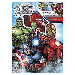 Marvel Sticker Pad