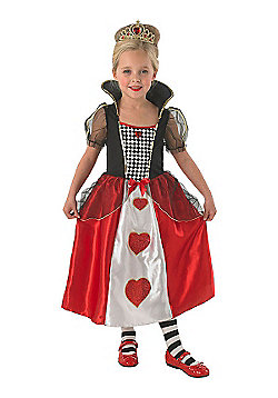 Red Queen - Child Costume 5-6 years