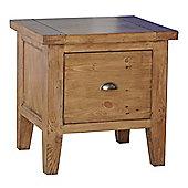 Wiseaction Capri 1 Drawer Lamp Table