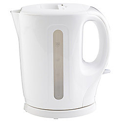 Tesco Basics Plastic Jug Kettle, 1.5L - White