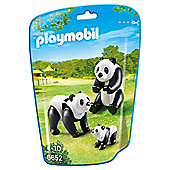 Playmobil 6652 City Life Zoo Panda Family