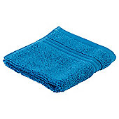 Tesco Hygro 100% Cotton Face Cloth, Teal