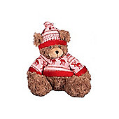 PREMDEC TEDDY BEAR+XMAS JUMPER/HAT