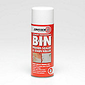 Zinsser B-I-N Primer Sealer - Stain Killer Paint - Aerosol - 400ml