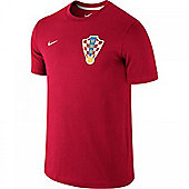 2014-15 Croatia Nike Core T-Shirt (Red) - Red