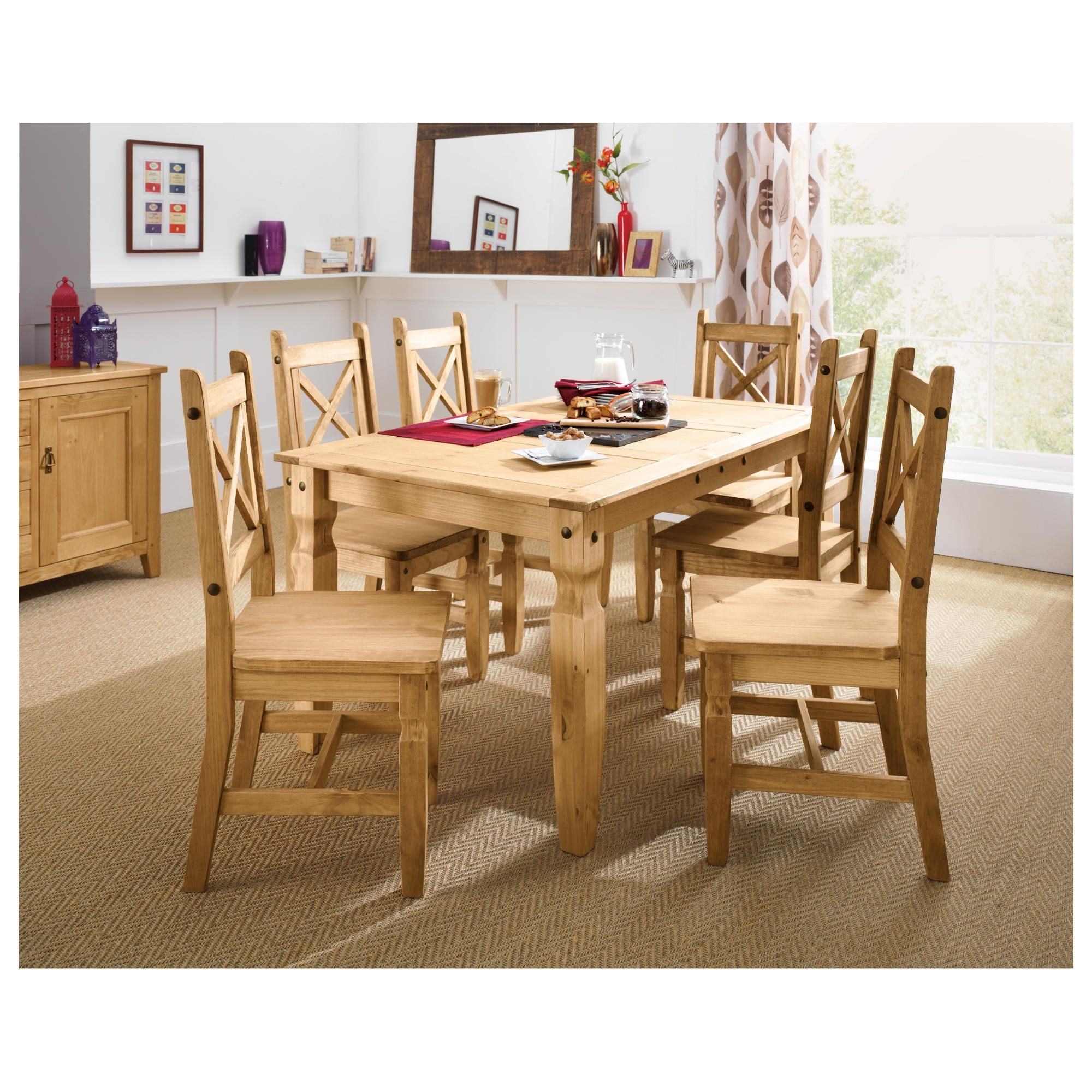 Cordoba 6 Seater Dining Set. at Tescos Direct