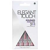 Elegant Touch Polished Nails-Ethereal Rose 311