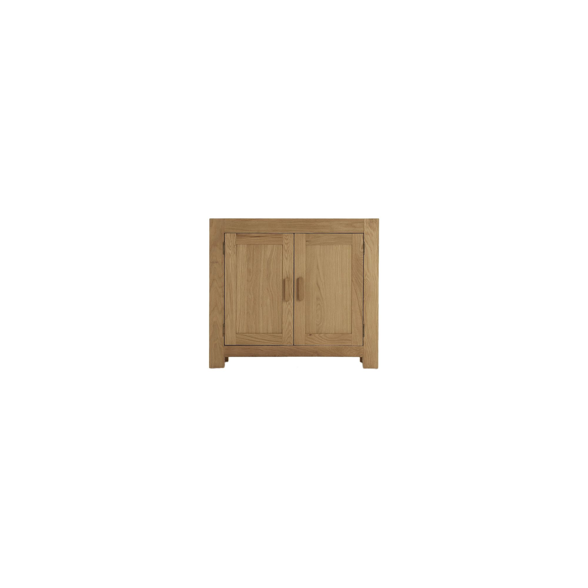 Thorndon Block Small Sideboard in Natural Matured Oak at Tesco Direct