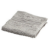 Tesco Face Cloth Silver
