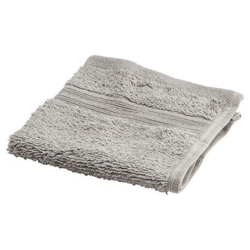 Tesco Face Cloth Silver