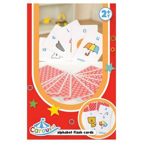 Carousel Alphabet Flash Cards