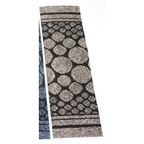 Dandy Cork Runner Beige Contemporary Rug - Runner 67cm x 300cm