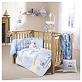 Clair De Lune Ahoy 2 Piece Set, Quilt & Bumper, Cot Bed