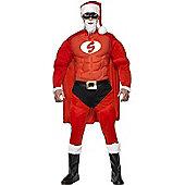 Super Fit Santa Costume Large