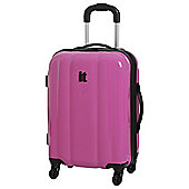 IT Luggage Mojave 4-Wheel Small Carmine Rose Suitcase